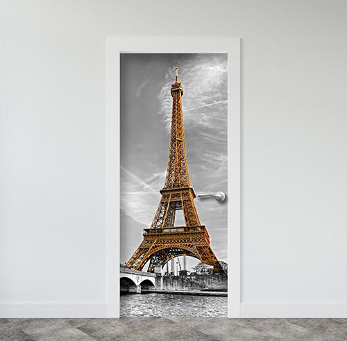Виниловая наклейка на двери (самоклеющаяся ламинированная пленка ПВХ) 200 х 65 см