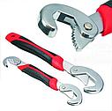 Универсальный разводной гаечный ключ Snap N Grip Original 2 шт в комплекте TOP, фото 4