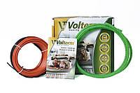 Теплый пол Volterm HR 12W/m коаксиальный нагревательный кабель в плиточный клей на 2,6-3,3 м. кв., фото 1