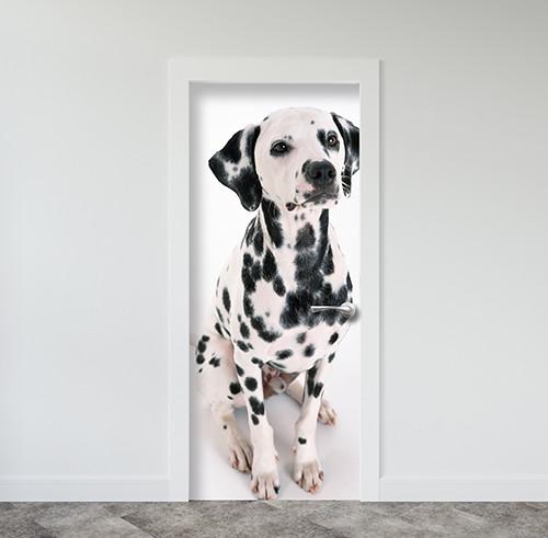 Виниловая наклейка на двери (самоклеющаяся ламинированная пленка) 200 х 65 см