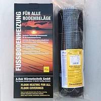 Теплый пол Arnold Rak на 10 м2 тонкий нагревательный двужильный мат Standart FH-EC 1800Вт, 180 Вт/м.кв