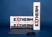 Електрична тепла підлога extherm нагрівальний мат на 0.75 m2 ET ECO 075-180
