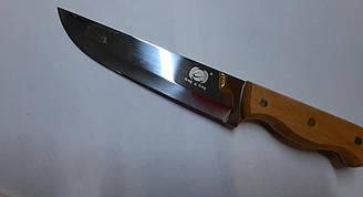 """Нож кухонный """"Деревянная ручка Премиум"""" из нержавеющей стали №2"""