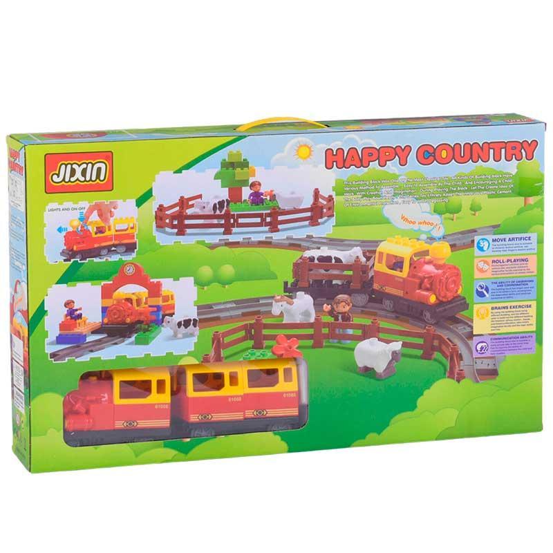 Залізниця-конструктор JIXIN 6188А