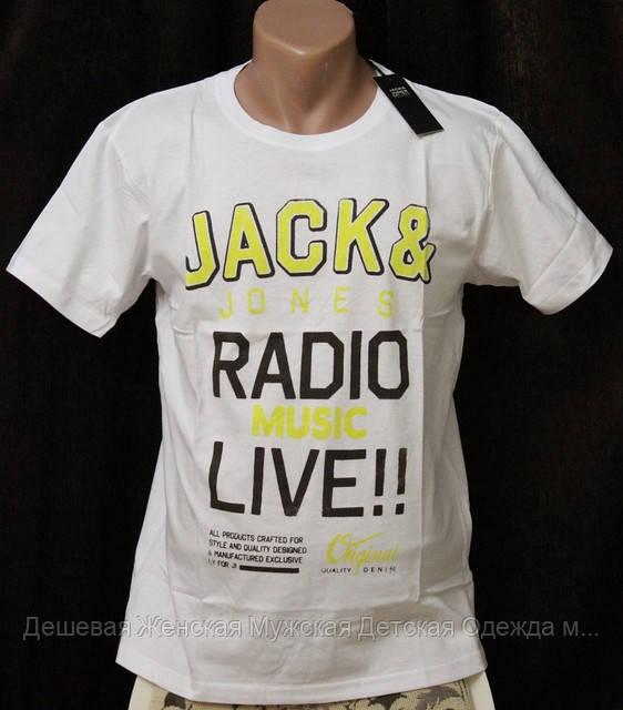 Мужская брендовая футболка Original JackJones №11