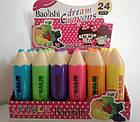 Гигиеническая помада для губ Baolishi Dream Crayons фруктовая с витаминами С и Е В097 24 шт, фото 6