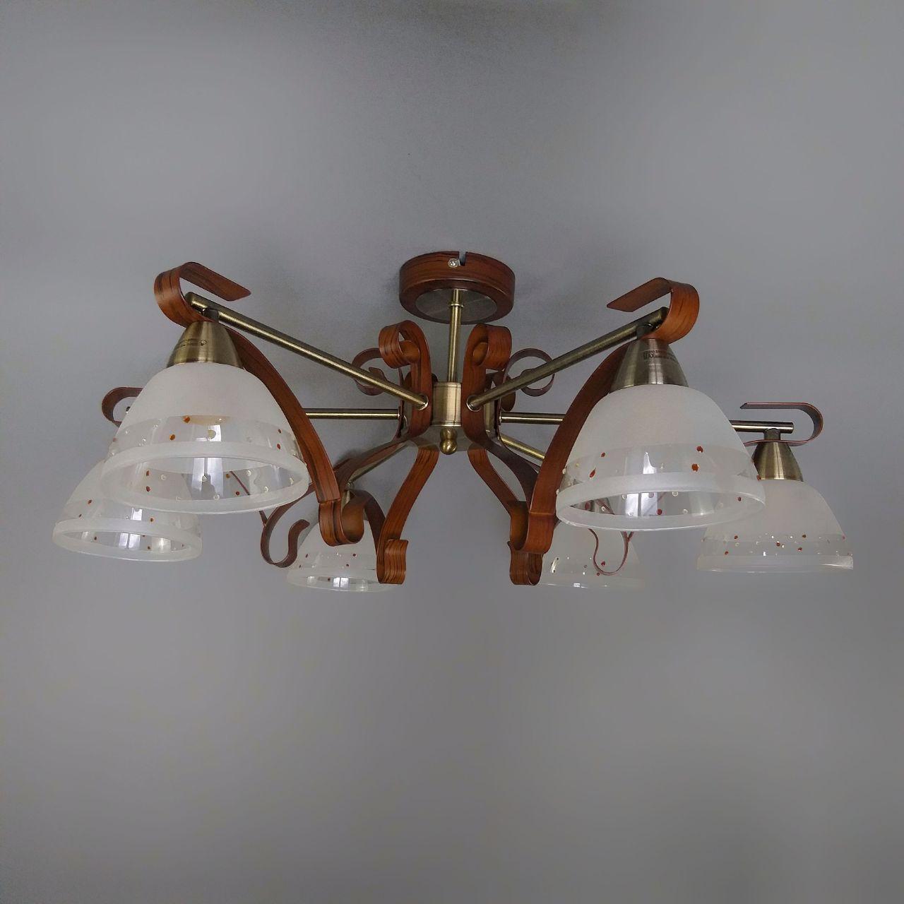 Люстра потолочная на 6 ламп OM-14121/6 AB