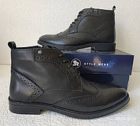 TODS! мужские броги оксфорд на шнуровке натуральная кожа ботинки демисезон