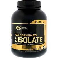 Протеин изолят, Optimum Nutrition, Gold Standard 100% Isolate, 2.91 lbs (1.32 kg)
