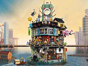 Блочный конструктор LEGO NINJAGO Movie Ниндзяго Сити (70620)