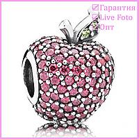 Подвеска-шарм Красное яблоко паве от 1шт. 791485CFR