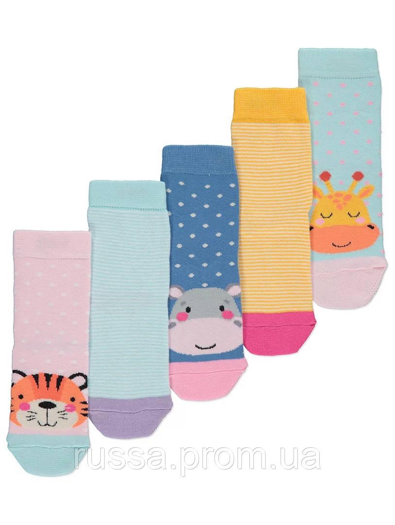 Набор детских носков Единорог 5 пар Джордж для девочки