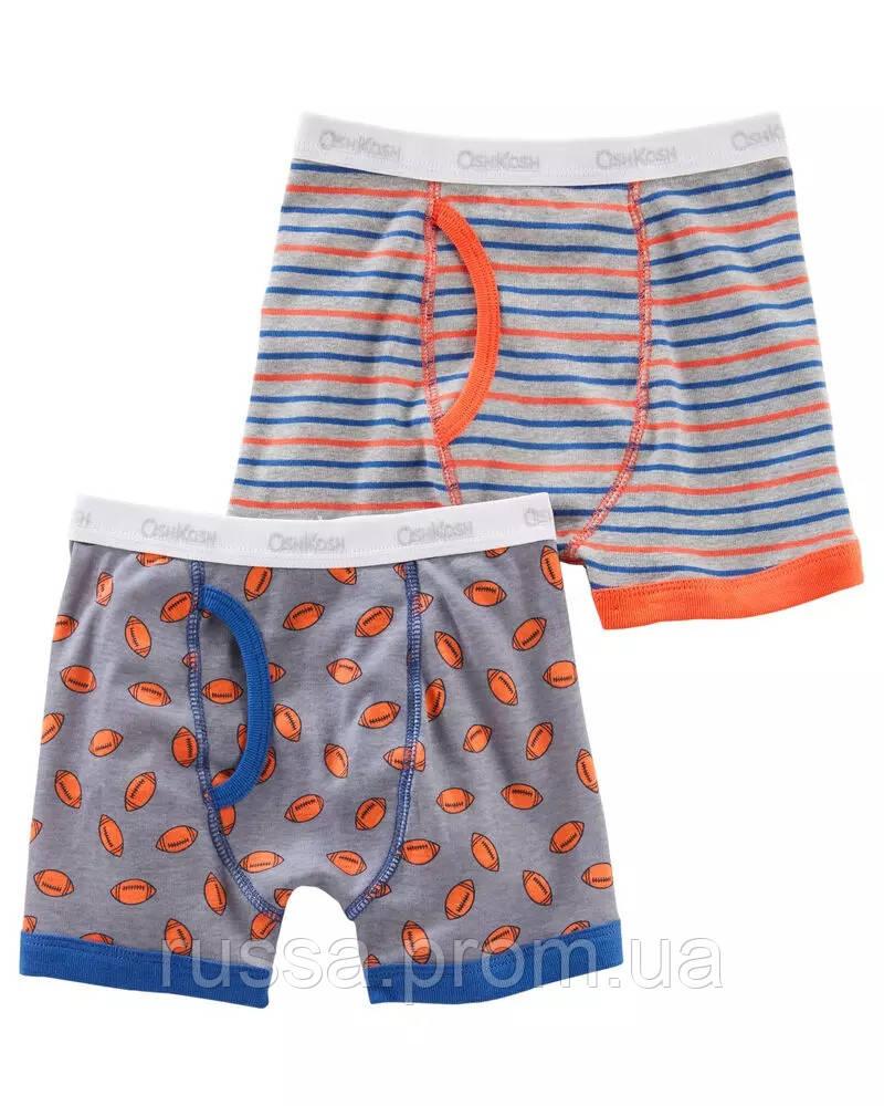 Набор детских трусиков шорты из 2-х шт. ОшКош для мальчика