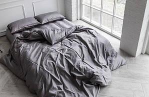 Однотонный комплект постельного белья GOLD сатин, семейный