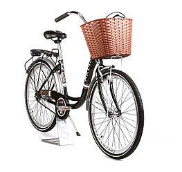 """Жіночий міський велосипед Ardis Lido CTB 26"""" 16"""" Чорний"""