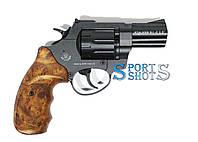 """Револьвер под патрон флобера Stalker 2.5"""" коричневая рукоять, фото 1"""