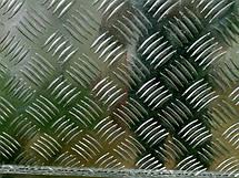 Лист рифленый, лист алюминиевый рифленый