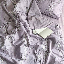 Комплект постільної білизни Ранфорс, євро розмір