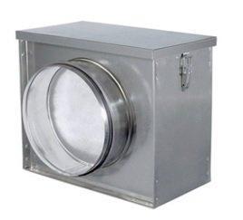 воздушный фильтр-бокс для круглых воздуховодов