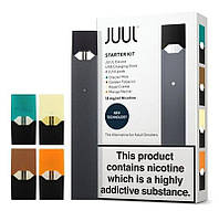 Электронная сигарета Juul с 4-мя подами в комплекте, Электронная сигарета Джул replika, фото 1