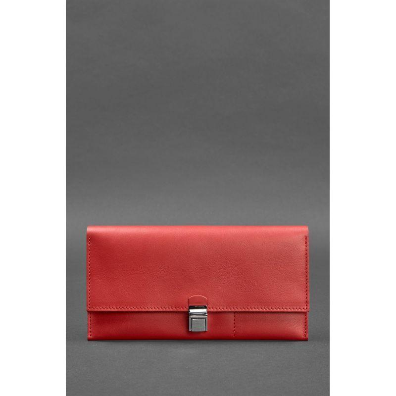 Кожаный женский тревел-кейс Journey 2.0 Красный