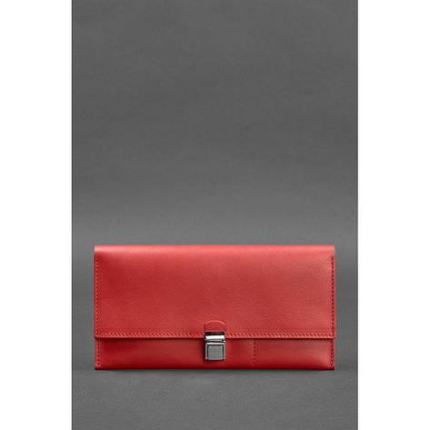 Кожаный женский тревел-кейс Journey 2.0 Красный, фото 2