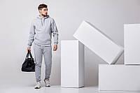 Мужской спортивный костюм серый