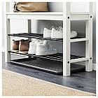 IKEA BAGGMUCK (603.297.11) Полки для обуви, внутри/снаружи, серые, фото 2