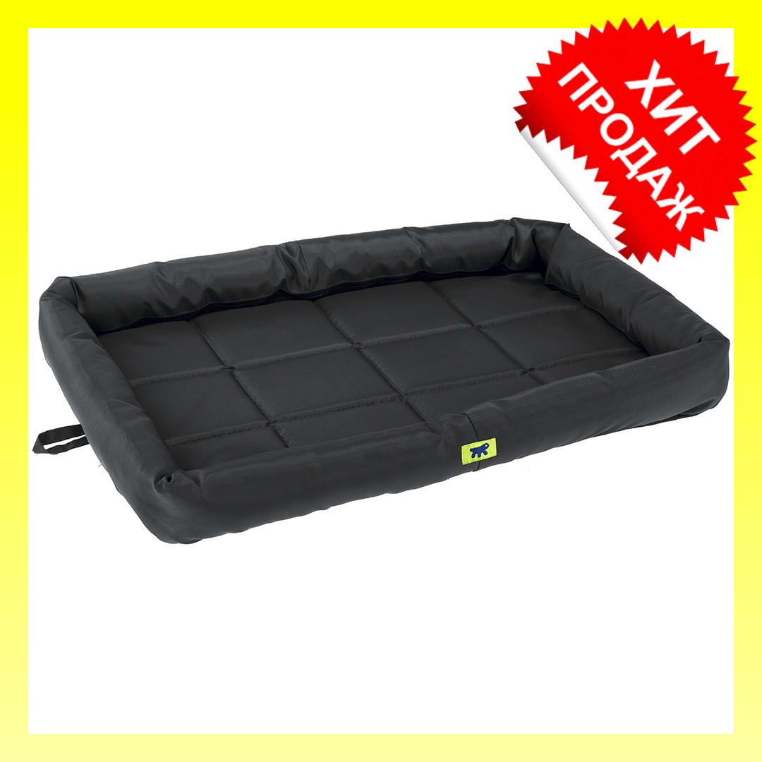 Матрас для собак Tender Tech 105 Black Cushion черный, 107x66x5 см. Лежак для собак и кошек