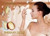 US MEDICA Прилад для led фототерапії US MEDICA Gold Therapy (рожевий)