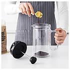 IKEA EGENTLIG (903.589.76) Кофе-пресс/заварочный чайник, двойная стенка, прозрачное стекло, фото 2