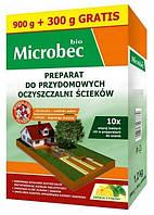 Microbec BIO в 10 разів сильніше, засоби для вигрібних ям і септиків Bros Microbec 1200 г