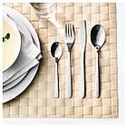 IKEA FORNUFT (700.149.99) Набор столовых приборов, 24 шт., Нержавеющая сталь, фото 2