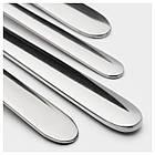 IKEA FORNUFT (700.149.99) Набор столовых приборов, 24 шт., Нержавеющая сталь, фото 3