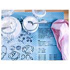 IKEA SOCKERKAKA (001.752.50) Лист для раскатывания теста и нож, голубой, фото 7