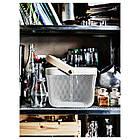 IKEA RISATORP (902.816.18) Корзина, белая, фото 2
