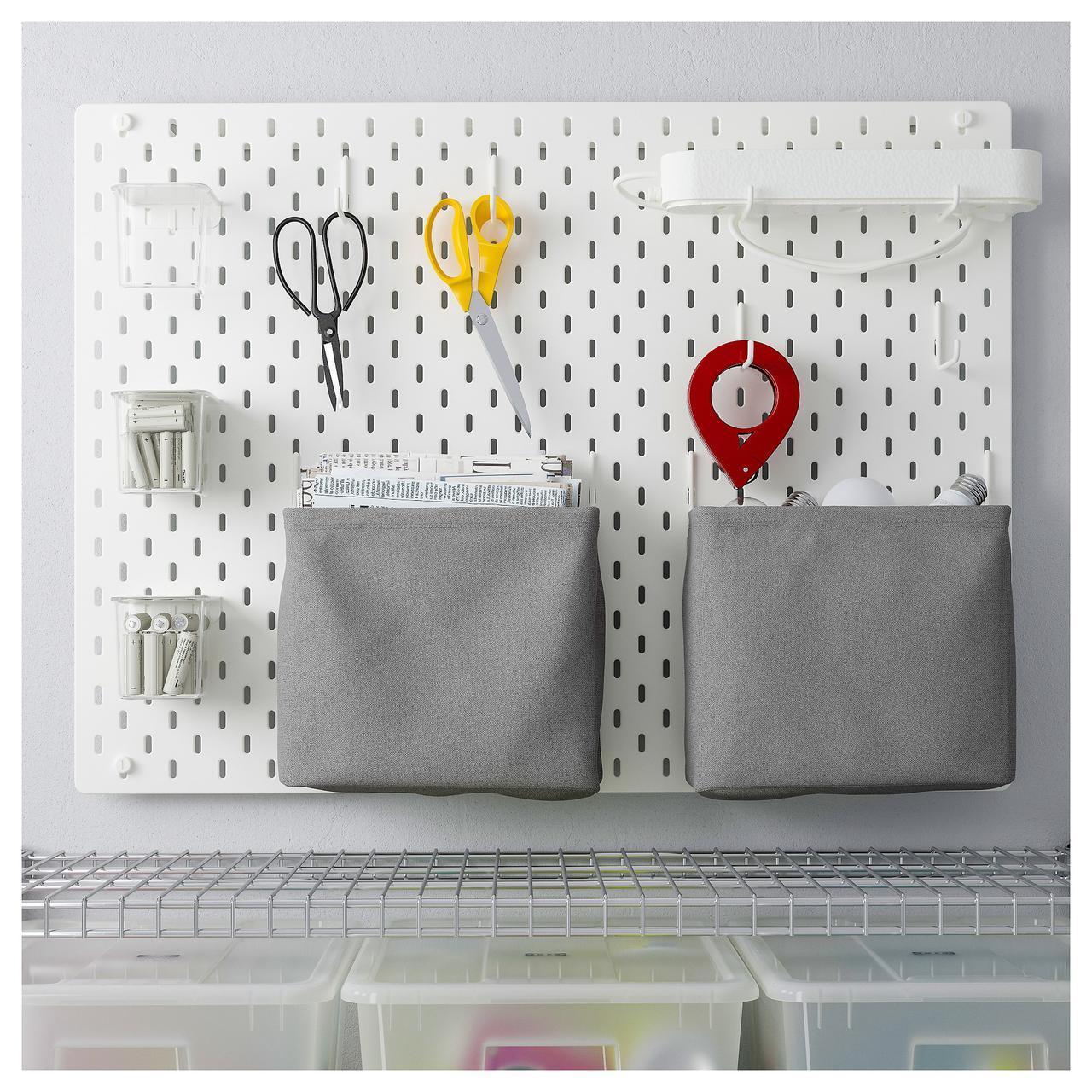 IKEA SKADIS (092.171.80) Перфорированная доска, белый