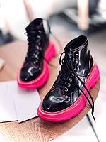Стильные женские ботинки ALEXANDER MCQUEEN (реплика), фото 1