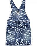 Детский джинсовый сарафан в цветочки ОшКош для девочки, фото 2