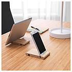 IKEA BERGENES (104.579.99) Держатель для телефона/планшета, бамбук, фото 3