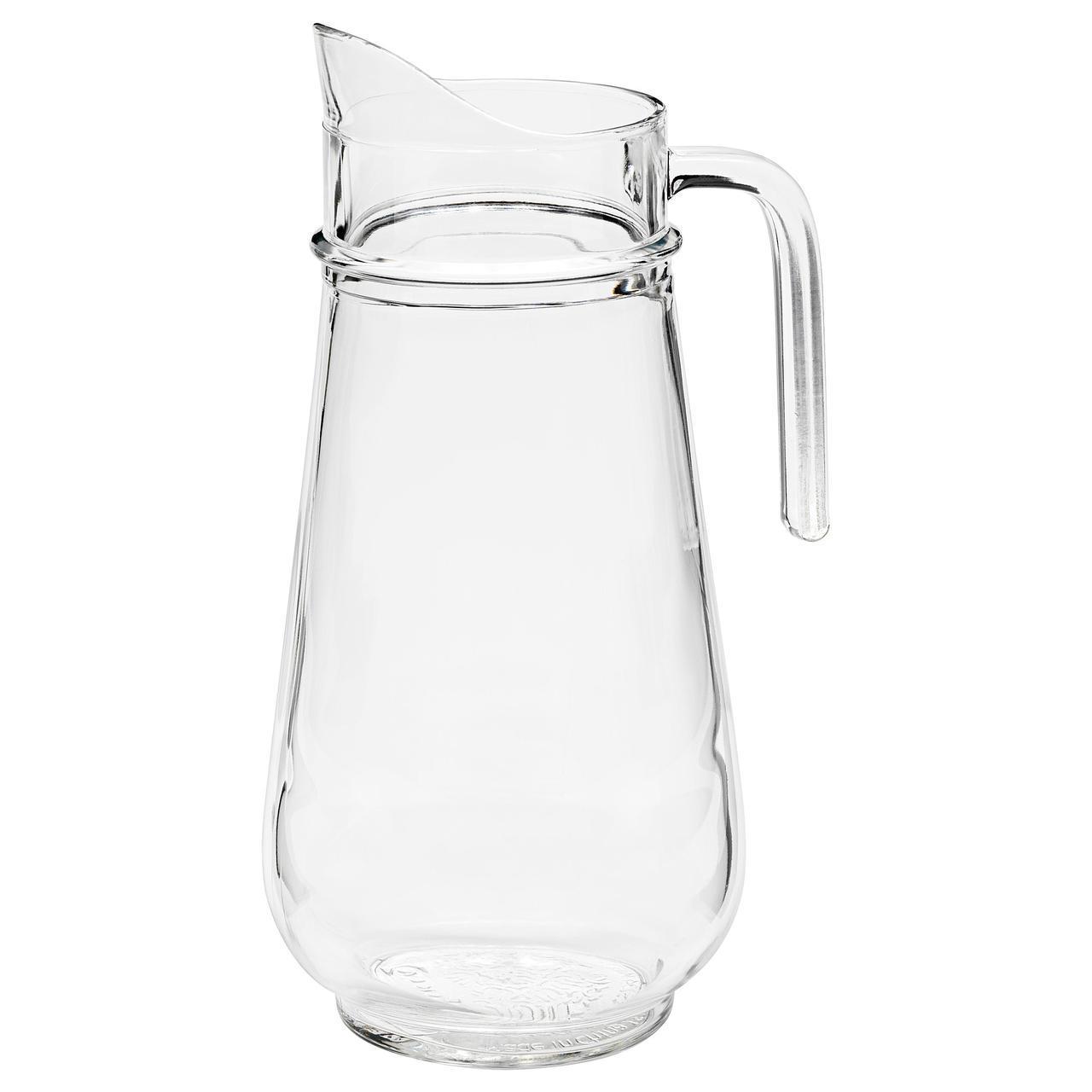 IKEA TILLBRINGARE (903.624.07) Кувшин, прозрачное стекло