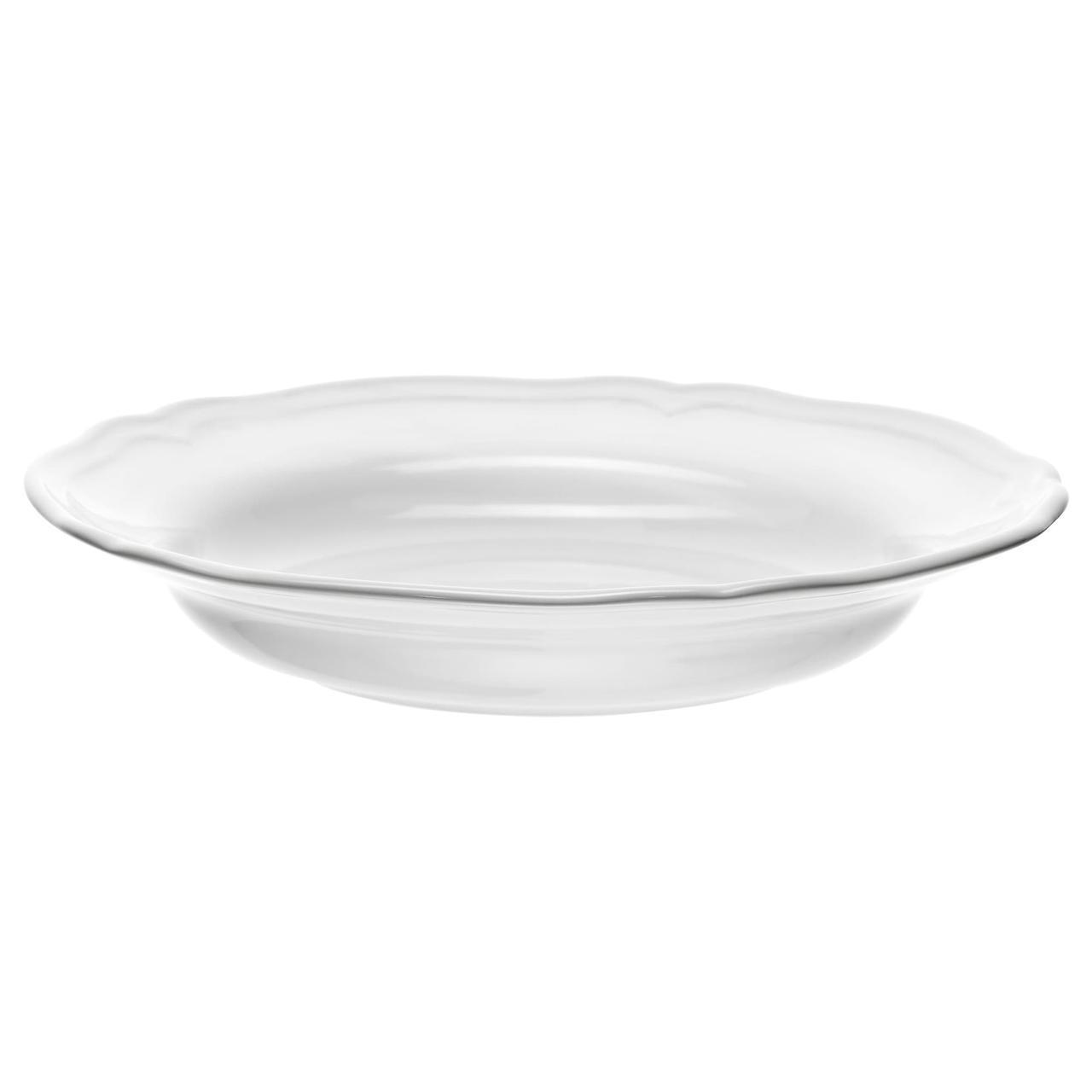IKEA ARV (601.878.58) Глубокая белая тарелка