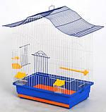 Клетка для попугаев ЛОРІ ЛОРИ цинк 47х30х62, фото 2