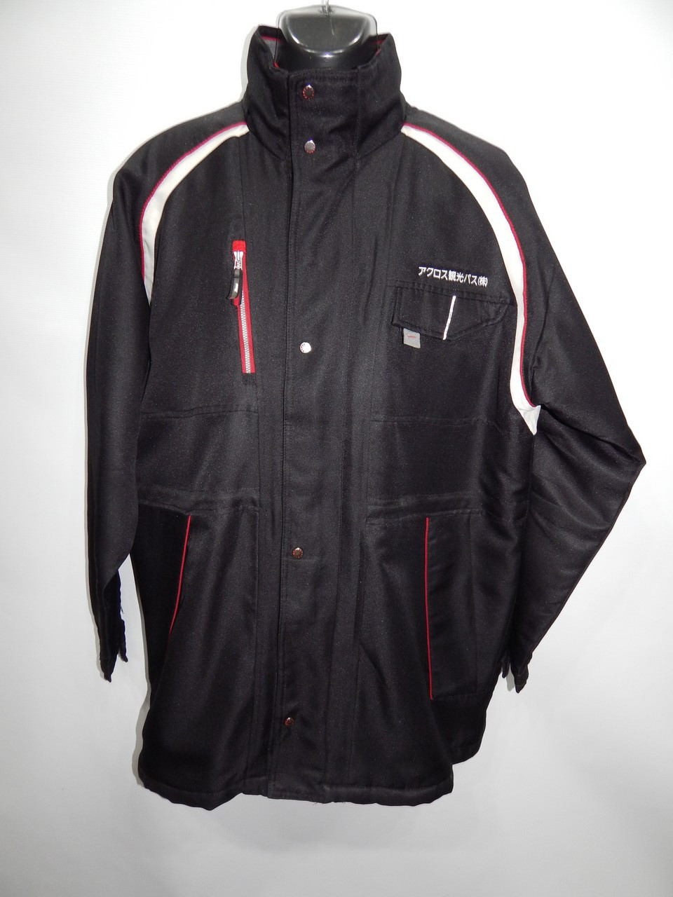 Мужская демисезонная спортивная куртка на синтепоне Xebek р.58 261KMD (батал)