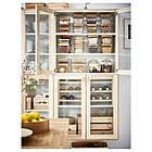 IKEA IKEA 365+ (292.691.11) Контейнер для еды с крышкой, квадратное стекло, стакан бамбука, фото 3