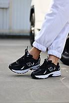 """Кросівки New Balance 350 """"Чорні/Білі"""", фото 2"""