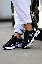 """Кросівки New Balance 350 """"Чорні/Білі"""", фото 3"""