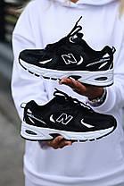 """Кроссовки New Balance 350 """"Черные/Белые"""", фото 2"""