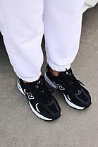 """Кроссовки New Balance 350 """"Черные/Белые"""", фото 3"""
