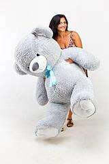 """Плюшевый медведь """"Нестор"""" Серый 200 см"""